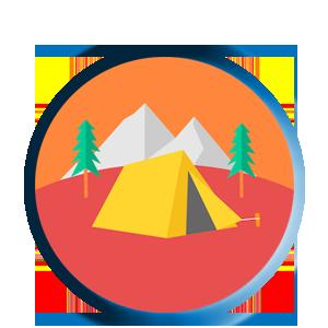 أغراض المخيمات